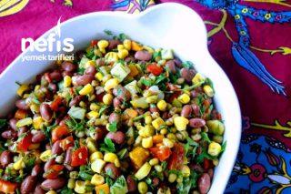 Meksika Ve Maş Fasulye Salata Tarifi
