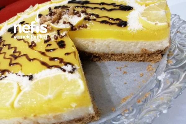 Limonlu Yalancı Cheesecake Tarifi