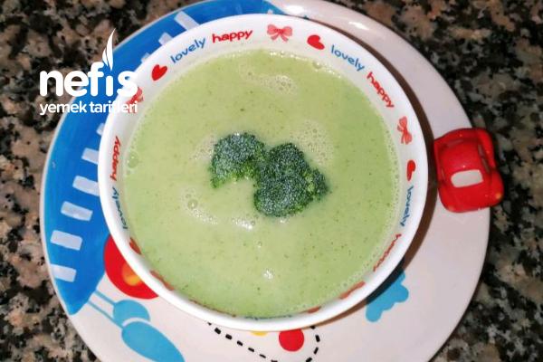 Minikler İçin Brokoli Çorbası Tarifi