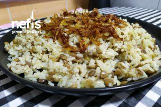 Pirinçli Müceddere Pilavı Tarifi
