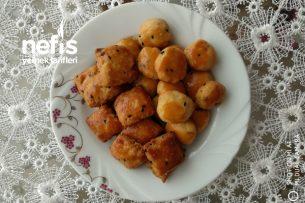Az Malzemeli Mini Tuzlu Kurabiye (Margarinsiz) Tarifi