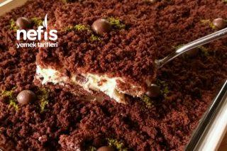 Borcamda Porsiyonluk Köstebek Pasta (videolu) Tarifi