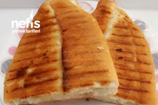 Karnabaharlı Tost (Vejetaryen Tostu) Tarifi