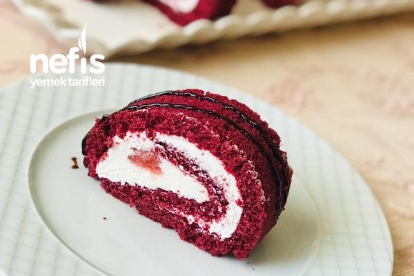 Kırmızı Rulo Pasta Tarifi