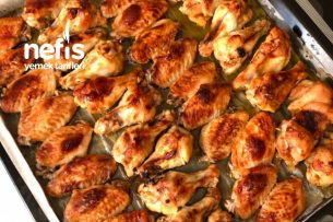 Mangal Tadında Fırında Tavuk Kanat Tarifi