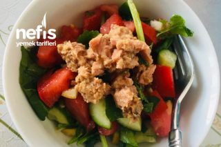 Ton Balıklı Kış Salatası Tarifi