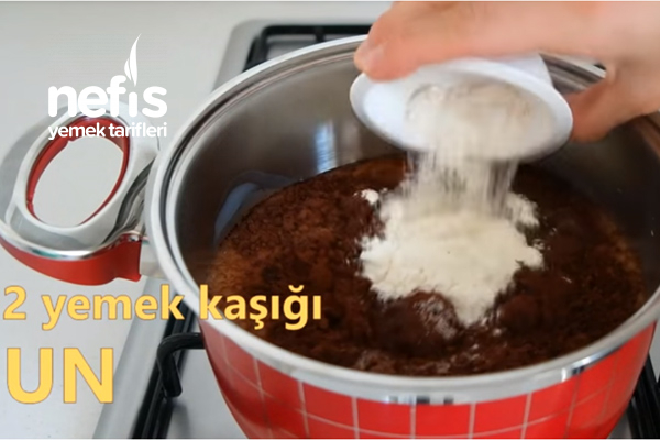 Az Malzeme ile Kakaolu Puding Yapımı