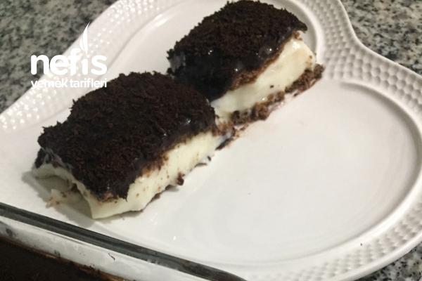 Hafif Çikolatalı Pastam (Fırınsız) Tarifi