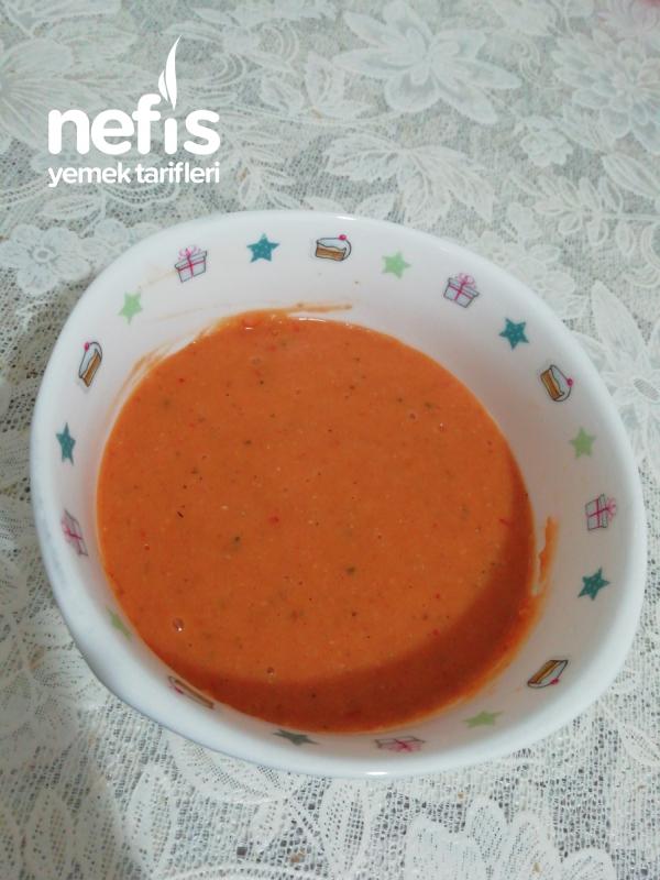 Kırmızı Mercimekli Tarhana Çorbası
