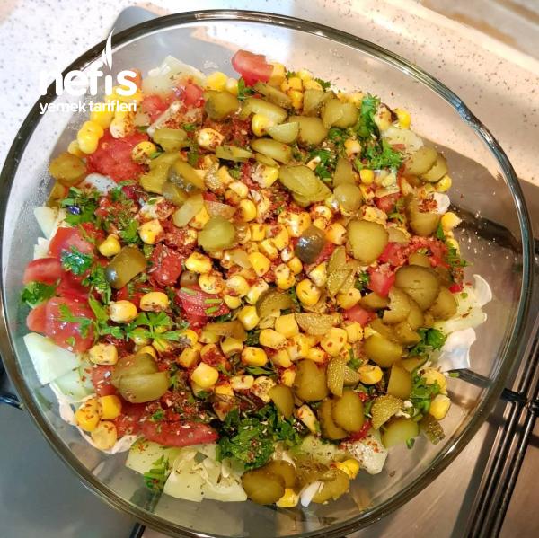 Lahana Salatası