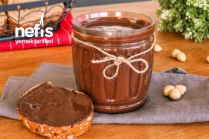 3 Malzeme ile Kahvaltılık Çikolata Yapımı (videolu) Tarifi