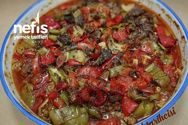 Biber Yemeği (Biber Kebabı) Tarifi