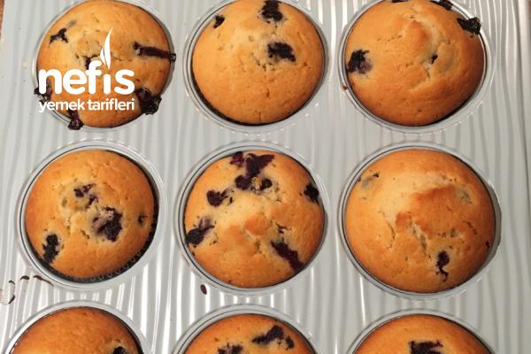Blueberry Muffins Tarifi