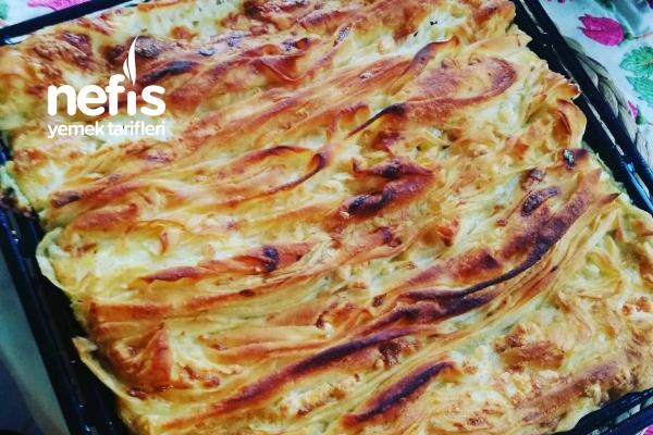 Kıvrım Böreği ( Pileli Börek) Tarifi