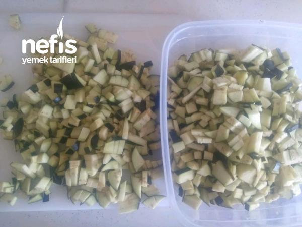 Patlıcanlı Gözleme(Farkı Hamurunda Ve Kıymalı Tadında)