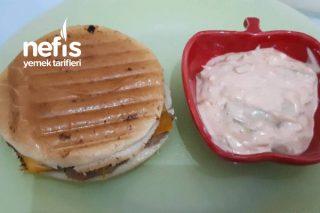 Sebzeli Cheeseburger Tarifi