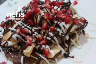 Tost Makinasında Wafflem Tarifi