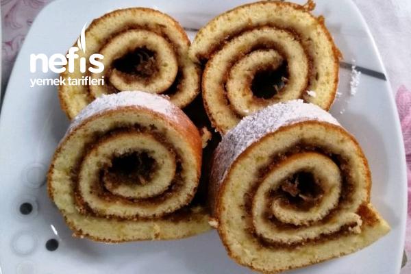 Yumuşacık Elmalı Rulo Pasta Tarifi