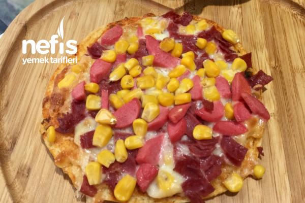 Bazlama Pizza Tarifi