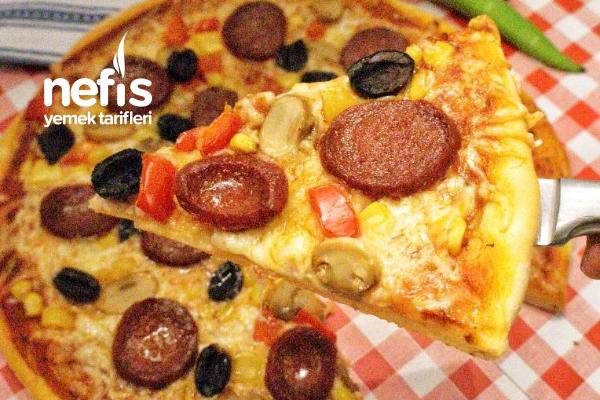 En Lezzetli Pizza Hamuru Tarifi