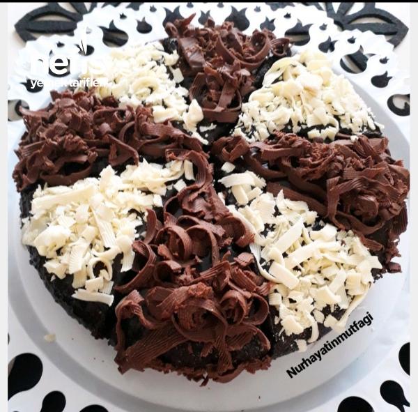 Fırın Kullanmadan Tencerede Çikolata Soslu Islak Kek(sünger Gibi Yumuşacık)