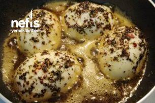 Tereyağlı Yumurta Kapama (Kahvaltıların Vazgeçilmezi Olacak) Tarifi
