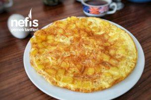 Kahvaltılık Patatesli Omlet Tarifi