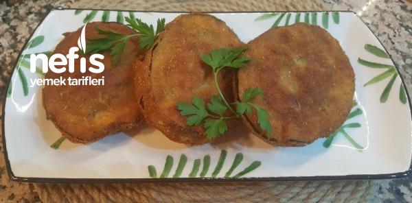 Köfte Dolgulu Halka Patlıcan