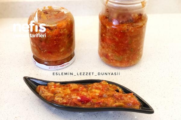 Köz Patlıcanlı Sos (Harika Bir Lezzet) Tarifi