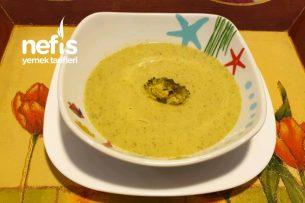 Sutlu Enfes Brokoli Çorbası Tarifi