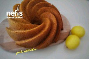 Kalıba Sığmayan Zerdeçallı Limonlu Kek Tarifi