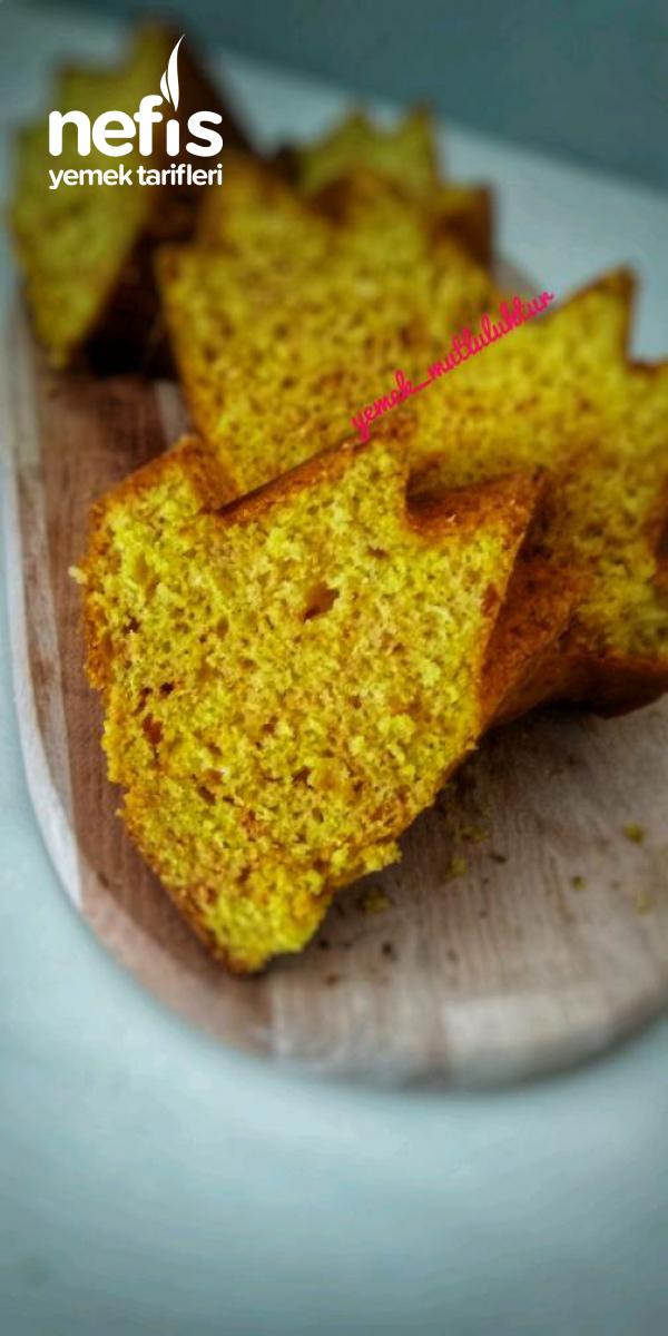 Kalıba Sığmayan Zerdeçallı Limonlu Kek