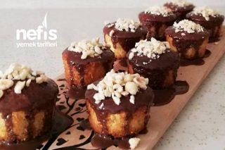 Portakallı Çikolata Soslu Muffin Tarifi