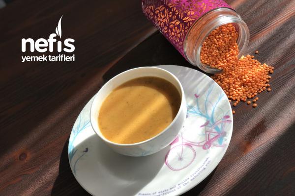 Restoran Usulü Sebzeli Mercimek Çorbası Tarifi
