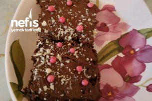 Browni Tadında Kek (Yumurtasız Ve Sütsüz) Tarifi