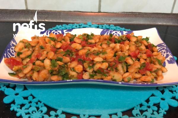Fasulye Salatası/Diyet Salatası Tarifi