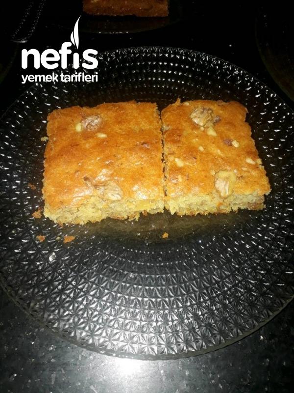 Havuçlu Tarçınlı Cevizli Kek