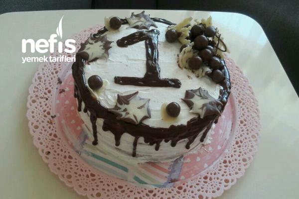 Kızıma Doğum Günü Pastası Tarifi