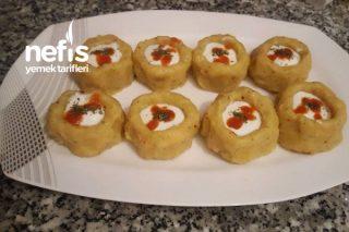 Porsiyonluk Patates Çanağı Sarımsaklı Tarifi
