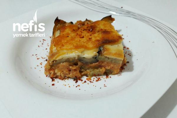 Tavuklu Patlıcanlı Lazanya Tarifi