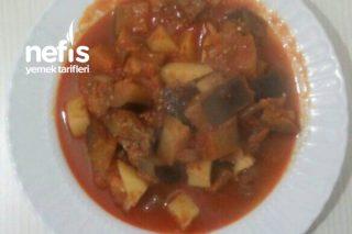Etli Patlıcan Türlüsü Tarifi