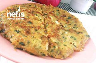 Kahvaltılık Şipşak Tava Böreği (Yufkasız) Tarifi