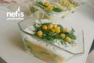 Porsiyonluk Patates Salatası Tarifi