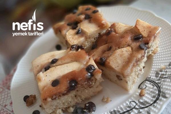 Tarçın Kokulu Nefis Elmalı Kek Tarifi