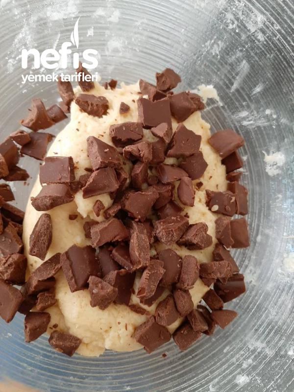 Çikolatalı Yumuşak Kurabiye (Çok Güzel)