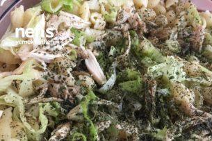Enfes Tavuklu Makarna Salatası Tarifi