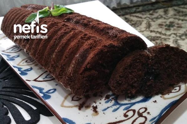 Kakaolu Baton Kek, Damla Çikolatalı(Sütsüz, Yoğurtsuz)