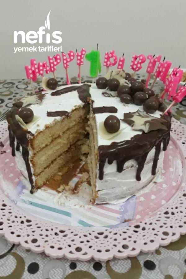Kızıma Doğum Günü Pastası
