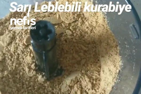 Leblebi Kurabiye(sarı Leblebili)