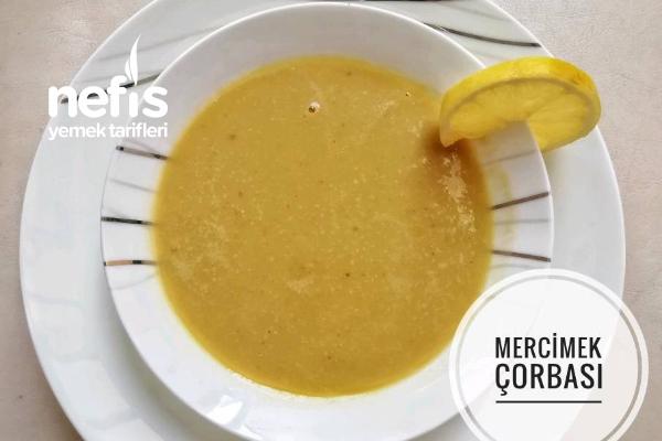 Mercimek Çorbası (Videolu) Tarifi